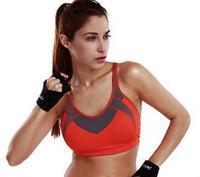 2015 Professional code  full big cup run vest women fitness bra vestidos de crianca infantil sports bra 32 34 36 38 A B C D DD