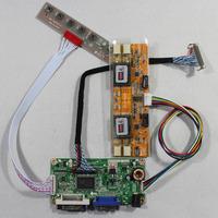DVI+VGA lcd controller board RT2261 work for 17inch M170EG02  LM170E03 M170EN01 1280*1204 lcd panel