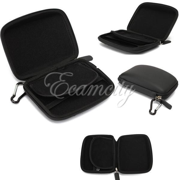 Hard EVA Shell Carry Case Cover Protective Zipper for Garmin 4.3inch in car NAVi GPS TomTom Go 400(China (Mainland))