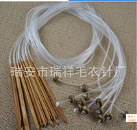 12 Sizes Afghan Hooks Bamboo Crochet Hooks Knitting Needles Craft 3.0mm-10.0mm