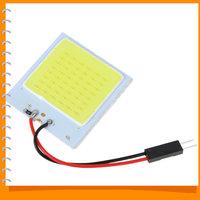 3pcs! 48 x SMD COB White LED Car Reading Light Lamp T10 4W Universal Car LED Reading Panel Car Interior Dome Light for All Cars