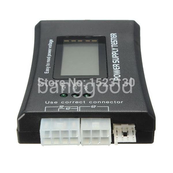 PC Computer Top Quality LCD display screen 20 24 Pin ATX BTX ITX HDD CDROM SATA