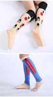 One Pair New Women's Cotton Long Socks Cute Animals/Cartoon Print Meias Sock Hot Sale