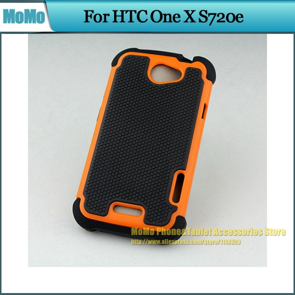 200pcs Football Pattern Rugged Case for HTC ONE X AT&T Silicone Hybrid Shockproof Back Skin Shell 2 in 1 Dual Layer Case Cover(China (Mainland))