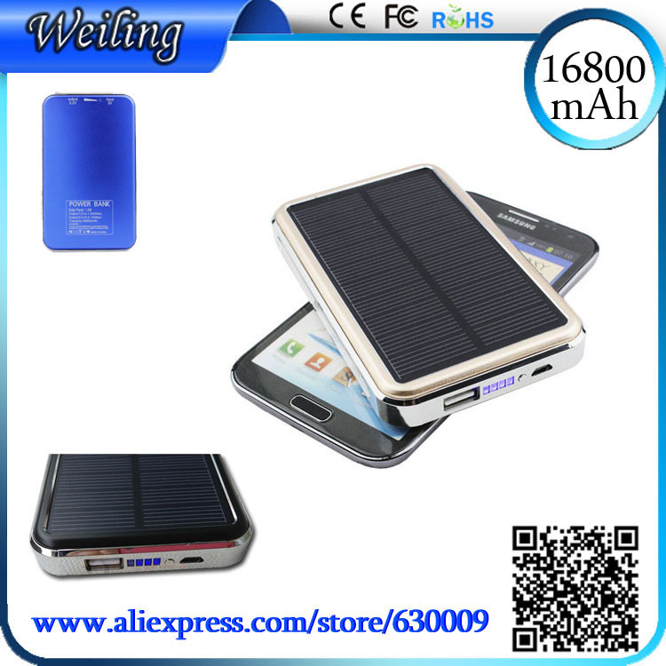 Зарядное устройство Soalr 16800mah usb /ipad/iphone/Samsug USB / DC 5V / Computure зарядное устройство oem 10000mah powerbank iphone samsung huawei usb dc 5v computure