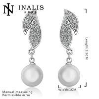 E697 Graceful Bijoux Tassel Dangle Golden Earrings Big Drop Earrings Austrian Crystal Statement Christmas Gift For Women