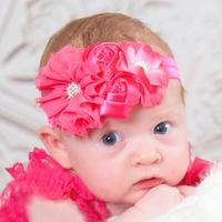 Girls Big Flowers Hairband Baby Hair Accessories Headband Acessorios Para Cabelo Children Headbands FS2028