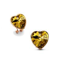 Wild heart-shaped female tassel earrings hypoallergenic bijouterie for women earings brincos vintage jewelry earing