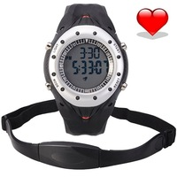 2015 New Relogio Masculino Heart Rate Monitor Calories Healthy Living Alarm Sport Watches men Digital Waterproof LED WristWatch