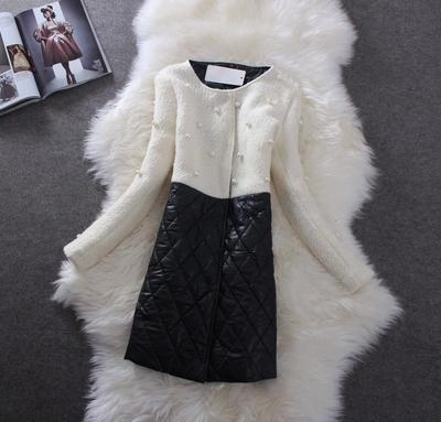 Женская одежда из шерсти M~XXL Casacos Femininos 2015 Casaco женская одежда из шерсти xxl y520