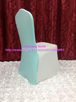 100pcs #44 Aqua Chair Back Caps ,Back Cover For Chair &Wedding Events&Banquet Decoration,