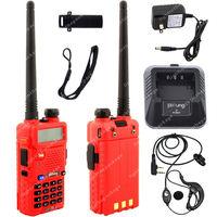 Pofung UV-5R VHF/UHF Dual Band 136-174/400-520MHz 5W FM Ham Two Way Radio  LB0571