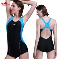 Siamese female swimsuit sexy swimwear large size swimwear
