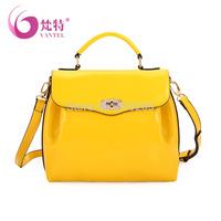 2014 soft bag small fresh handbag candy color one shoulder cross-body fashion women's handbag