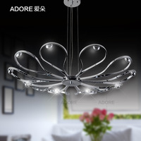 Adore simple chandeliers with modern fashion creative personality living room dining room stainless steel LED Lighting