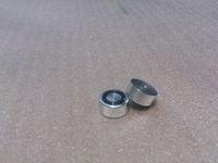 Hifi store NEW 4x (Silver) Aluminum feet / foot pads D:20mm H:10mm for amplifier case