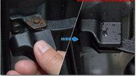 mv200 dedicated NV200 waterproof rustproof door stopper car door lock cover