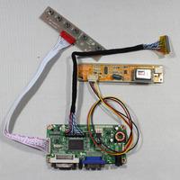DVI+VGA lcd controller board RT2261 work for 15.4inch LP154WP1  N154C3 LTN154W1 B154PW01 1440*900 lcd panel