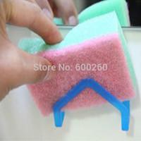 Hot sales dish cloths rack suction sponge holder clip rag Storage Rack free shipping