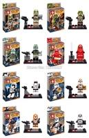 presale! SY265 80pcs superhero star wars minifigures assemble plastic buiding block bricks minifigures action toy for children