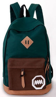 Hot! [5 colors] Canvas Fashion Bags Hot Sale School Bag Women Backpack Women Cheap Price BK042