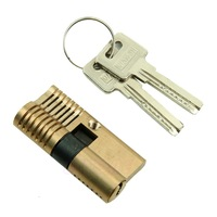 Cutaway Practice 7 pins Brass both end Lock training Skill Pick for Locksmith