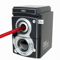 Pencil Sharpener Office & School Stationery Supplies Adjustable Camera Manual Volume Pencil Machine  Child Gift