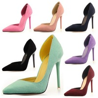 fashion female pointed toe pumps women shoes girls sexy thin high heels 2015 spring autumn ladies shoes woman party GD150085