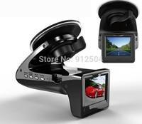 "Free shipping! Russian Radar Detector+Car DVR 2.0""LCD G-Sensor 140 Degree View Angle Speed Radar Detector car camera"