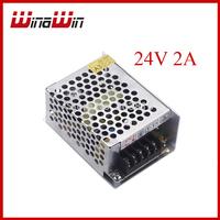 AC 100V-240V to DC 24V 2A 48W Voltage Transformer Switch Power Supply for Led Strip light