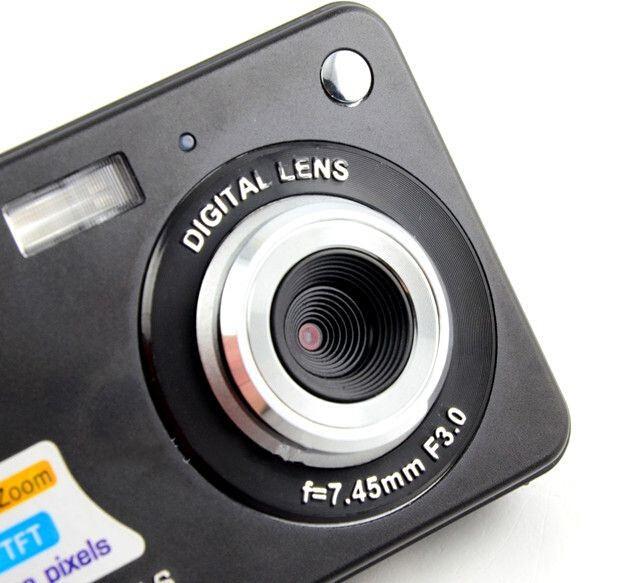 2 7 TFT Screen Photo Camera Professional 4x Digital Zoom Digital Camera foto camera Anti Shake