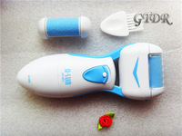 Free shipping Foot Care Tool Skin Care Feet Dead Skin Removal Electric Foot Exfoliator Heel Cuticles Remover Feet Care
