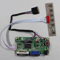 DVI+VGA lcd controller board RT2261 work for 10.1inch B101EW05 LP101WX1  HSD101PWW1  1280*800 lcd panel