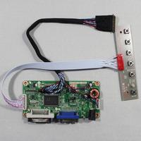 DVI+VGA lcd controller board RT2261 work for 17.3inch LP173WD1 B173RW01 1600*900 lcd panel