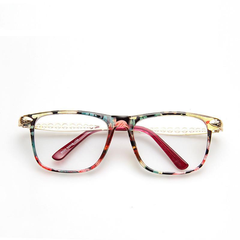 Europe and America Fashion Brand Designer Prescription Glasses Frames Eyeglasses Frame Women(China (Mainland))