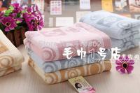 pure cotton facecloth Promotion face towel 34*74cm 100g facetowel 3pcs/lot