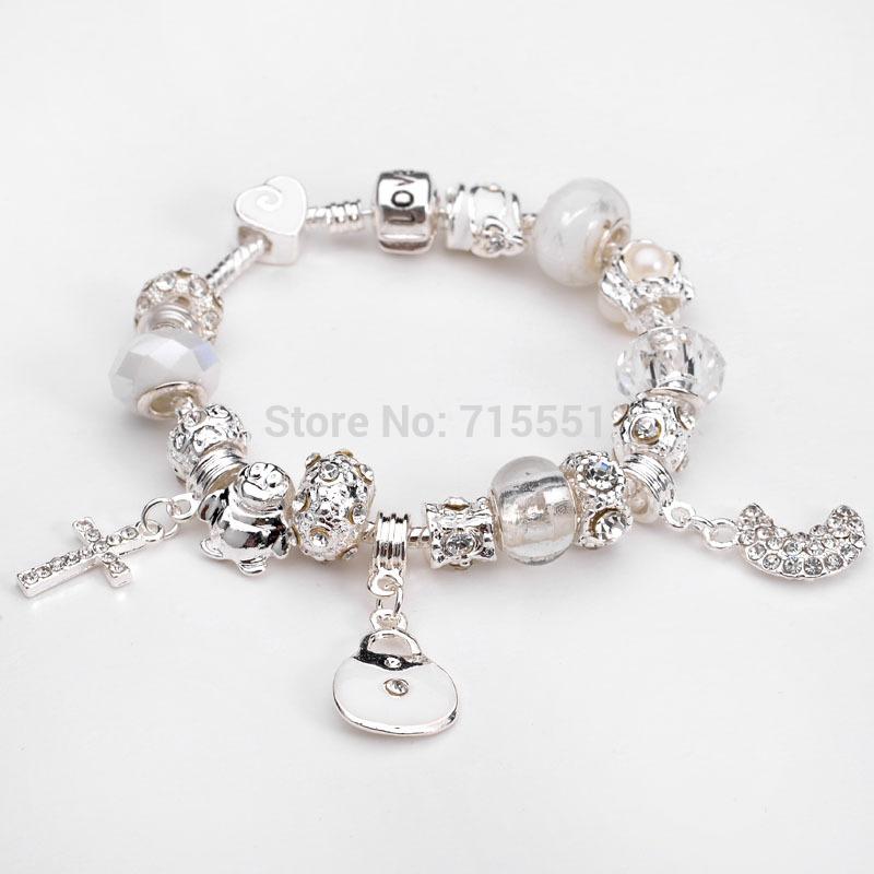 Браслет с брелоками Silver Angel 925 , chamilia bracelet браслет цепь oem lx ah211 925 925 aigaizna buraklya bracelet