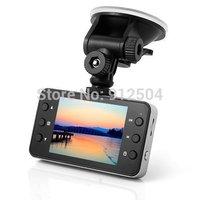 "Car DVR 720p 2.7"" LCD Recorder Video Dashboard Vehicle Camera K6000 NOVATEK Chipset"