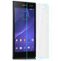 C3 Premium Tempered Glass Screen Protector Protective Film For Sony Xperia C3 D2533 Protector With Retail Package