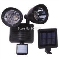 Solar Power 22 Led Motion Sensor PIR Security Light,PIR range 2-5meters,Perfect for garden sheds, pathways, dog pens, garages