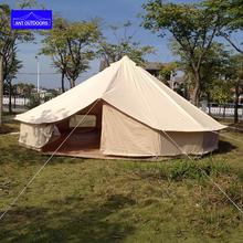 DANCHEL Waterproof 5M bell tent canvas yurt tent canvas tipi tent for sale 5 meters diameter(China (Mainland))