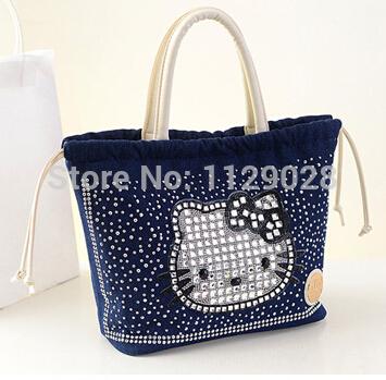 HOT!! hello kitty bag for women bags handbags women famous brands bolsas femininas 2014(China (Mainland))