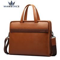 2015 luxury vintage genuine leather bag brand handbags shoulder bag business men briefcase laptop bolsos men travel bags sacoche