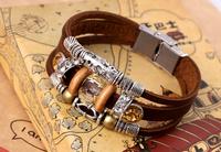 Hot Sale  Fashionable Leather   Bracelets for  Women