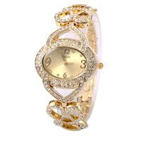 The Arrival Of 2015 New Elegant Ornate Antique Watch Fashion Women'S Clothing Diamond Bracelet Watch Quartz Watches