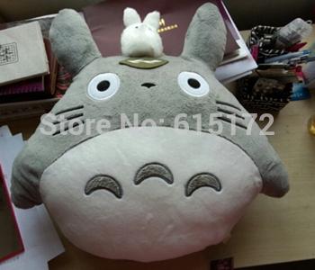 Funny Novelty Birthday Gift Kawaii hayao miyazaki Studio Ghibli My Neighbor Totoro Plush Toy peluche Stuffed Animal brinquedo(China (Mainland))