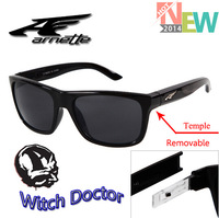 Hot Fashion Witch Doctor Arnette Sunglasses Men Aces Collection Interchangeable Arms 18 Colors gafas Cycling Glasses oculos
