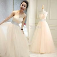 New2015 HOT SELL A-line Bride wedding dress fashion slim lace up Off Shoulder Set auger Floor length wedding dress Free Shipping