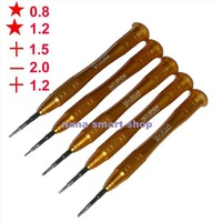 Pentalobe 1.2/0.8 Phillips / Slotted 2.0mm screwdriver set for macbook air repair for iphone 5 5s repair screwdriver set