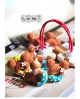 Free ship!1lot=20pc!Children's hair accessories /girl cartoon double hair band / hair rope/headwear